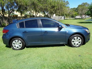 2011 Holden Cruze JH Series II MY12 CD Blue 6 Speed Sports Automatic Hatchback.