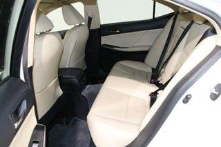 2014 Lexus IS300H AVE30R Luxury Hybrid White Continuous Variable Sedan