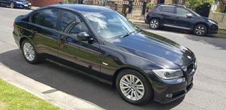 2009 BMW 320d E90 MY09 Executive Black 6 Speed Auto Steptronic Sedan.