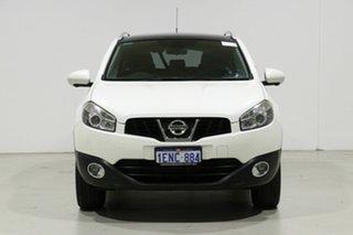 2014 Nissan Dualis J10 MY13 TI-L (4x2) White 6 Speed CVT Auto Sequential Wagon.