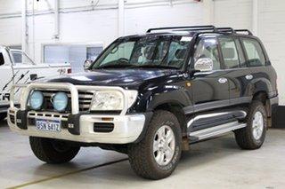 2007 Toyota Landcruiser UZJ100R Upgrade II GXL (4x4) Black 5 Speed Automatic Wagon.