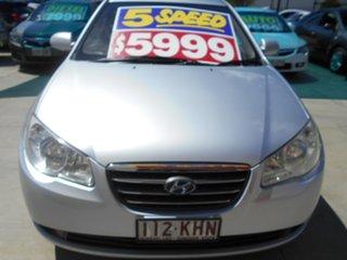 2006 Hyundai Elantra HD SX Silver 5 Speed Manual Sedan.