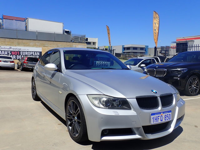 Used BMW 320d E90 MY09 Executive Wangara, 2008 BMW 320d E90 MY09 Executive Adventurine Silver 6 Speed Auto Steptronic Sedan