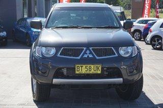 2013 Mitsubishi Triton MN MY13 GL-R Double Cab Grey 4 Speed Sports Automatic Utility.
