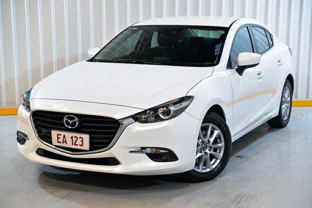 Used Mazda 3 BM5278 Maxx SKYACTIV-Drive Hendra, 2016 Mazda 3 BM5278 Maxx SKYACTIV-Drive White 6 Speed Sports Automatic Sedan