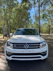 2020 Volkswagen Amarok 2H MY21 TDI550 4MOTION Perm Sportline Candy White 8 Speed Automatic Utility.