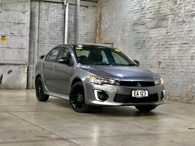 Used Mitsubishi Lancer CF MY17 Black Edition Mile End South, 2017 Mitsubishi Lancer CF MY17 Black Edition Grey 6 Speed Constant Variable Sedan