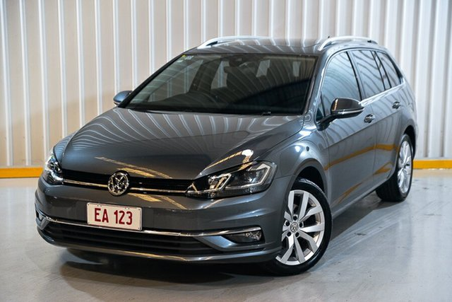 Used Volkswagen Golf 7.5 MY19 110TSI DSG Highline Hendra, 2018 Volkswagen Golf 7.5 MY19 110TSI DSG Highline Grey 7 Speed Sports Automatic Dual Clutch Wagon