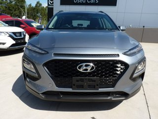 2019 Hyundai Kona OS.2 MY19 Active 2WD Lake Silver 6 Speed Sports Automatic Wagon.
