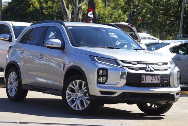 Demo Mitsubishi ASX XD MY20 LS 2WD Toowoomba, 2020 Mitsubishi ASX XD MY20 LS 2WD Sterling Silver 1 Speed Constant Variable Wagon