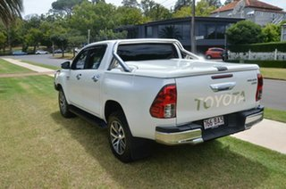 2015 Toyota Hilux GUN126R SR5 (4x4) White 6 Speed Manual Dual Cab Utility