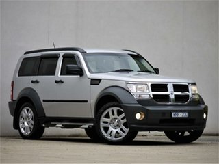 2007 Dodge Nitro KA SX Silver 4 Speed Sports Automatic Wagon.