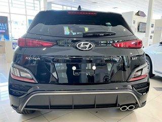 2020 Hyundai Kona Os.v4 MY21 Phantom Black 7 Speed Sports Automatic Dual Clutch Wagon