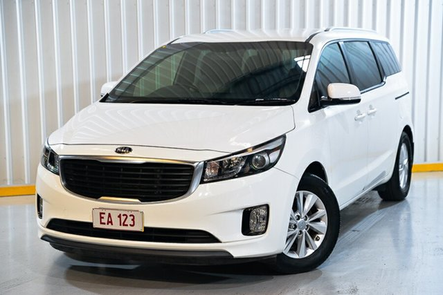 Used Kia Carnival YP MY17 SI Hendra, 2017 Kia Carnival YP MY17 SI White 6 Speed Sports Automatic Wagon