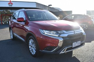 2019 Mitsubishi Outlander ZL MY20 ES 2WD Red 6 Speed Constant Variable Wagon.