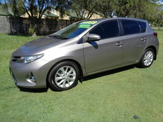 2014 Toyota Corolla ZRE182R Ascent Sport S-CVT Grey 7 Speed Constant Variable Hatchback.