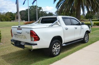 2015 Toyota Hilux GUN126R SR5 (4x4) White 6 Speed Manual Dual Cab Utility.