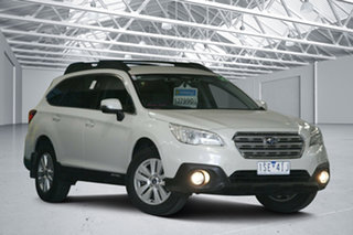 2017 Subaru Outback MY16 2.0D AWD White Continuous Variable Wagon.