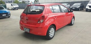 2013 Hyundai i20 PB MY13 Active Red 4 Speed Automatic Hatchback.
