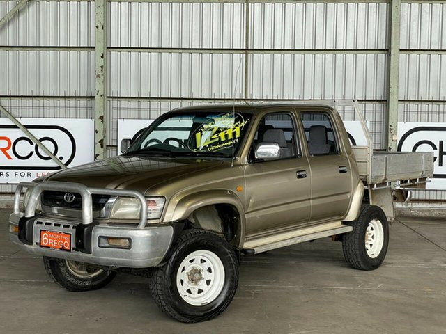Used Toyota Hilux KZN165R MY02 SR5 Rocklea, 2003 Toyota Hilux KZN165R MY02 SR5 Gold 5 Speed Manual Utility
