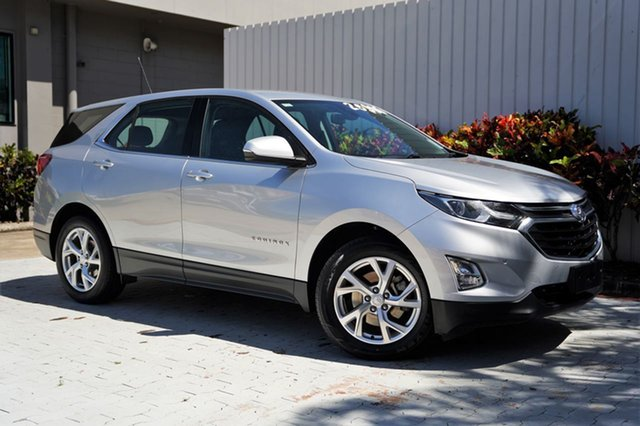 Used Holden Equinox EQ MY18 LT FWD Cairns, 2019 Holden Equinox EQ MY18 LT FWD Silver 9 Speed Sports Automatic Wagon