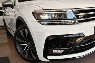 2020 Volkswagen Tiguan 5N MY21 140TDI Highline DSG 4MOTION Allspace Pure White 7 Speed.