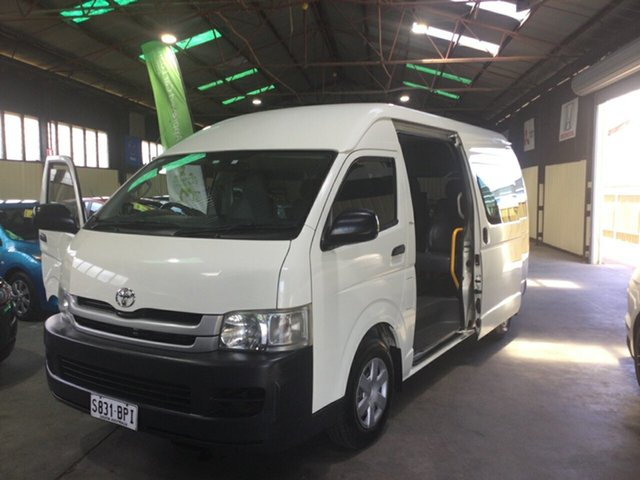 Used Toyota HiAce TRH223R MY07 Upgrade Commuter Hampstead Gardens, 2008 Toyota HiAce TRH223R MY07 Upgrade Commuter White 4 Speed Automatic Bus