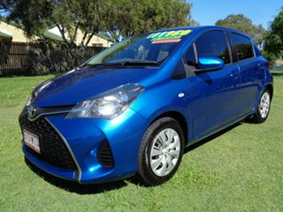 2015 Toyota Yaris NCP131R SX Blue 5 Speed Manual Hatchback