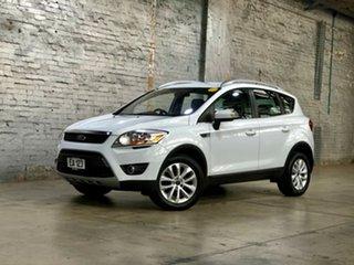2012 Ford Kuga TE Trend AWD White 5 Speed Sports Automatic Wagon.