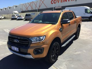 2018 Ford Ranger PX MkII 2018.00MY Wildtrak Double Cab Saber 6 Speed Sports Automatic Utility