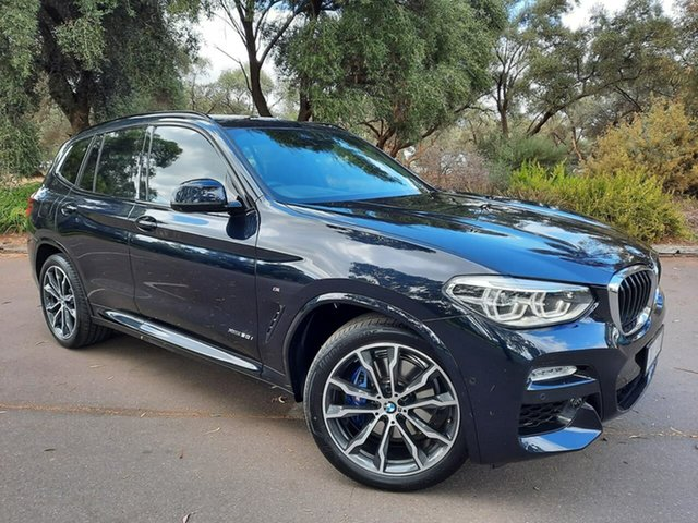 Used BMW X3 G01 xDrive30i Steptronic Adelaide, 2017 BMW X3 G01 xDrive30i Steptronic Black 8 Speed Automatic Wagon