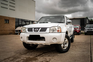 2012 Nissan Navara D22 Series 5 ST-R (4x4) Polar White 5 Speed Manual Dual Cab Pick-up