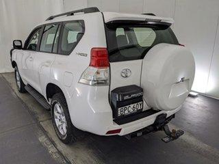 2010 Toyota Landcruiser Prado KDJ150R GXL White 6 Speed Manual Wagon