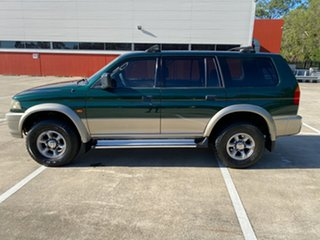 1999 Mitsubishi Challenger PA (4x4) Green 5 Speed Manual 4x4 Wagon