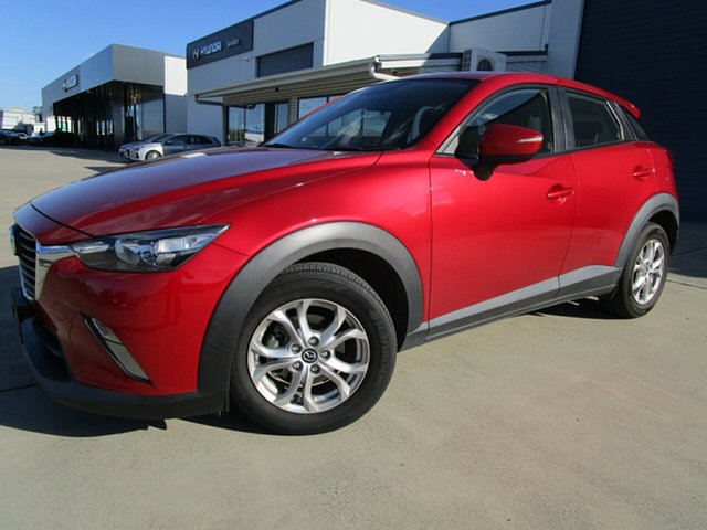Used Mazda CX-3 DK2W76 Maxx SKYACTIV-MT Caboolture, 2015 Mazda CX-3 DK2W76 Maxx SKYACTIV-MT Red 6 Speed Manual Wagon