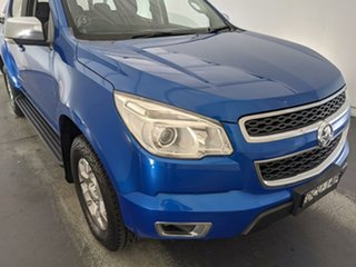 2015 Holden Colorado RG MY15 LTZ Crew Cab Blue 6 Speed Manual Utility.