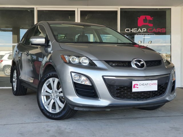 Used Mazda CX-7 ER10A2 Sports Brendale, 2011 Mazda CX-7 ER10A2 Sports Silver 6 Speed Manual Wagon