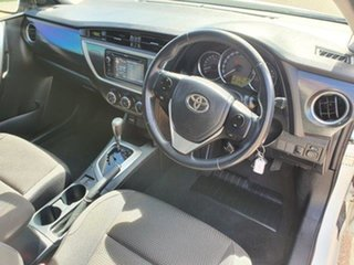 2012 Toyota Corolla ZRE182R Ascent Sport S-CVT Glacier White 7 Speed Constant Variable Hatchback