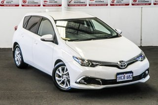 2018 Toyota Corolla ZRE182R MY17 Ascent Sport Glacier White 7 Speed CVT Auto Sequential Hatchback.