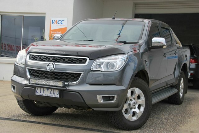 Used Holden Colorado RG LTZ (4x4) Wendouree, 2012 Holden Colorado RG LTZ (4x4) Grey 6 Speed Automatic Crew Cab Pickup