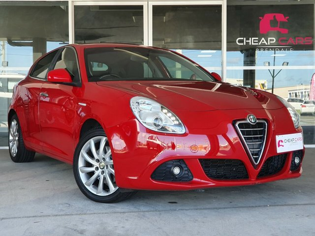 Used Alfa Romeo Giulietta Series 0 Brendale, 2012 Alfa Romeo Giulietta Series 0 Red 6 Speed Manual Hatchback