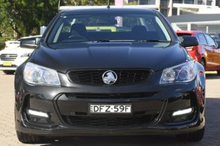 2016 Holden Ute Vfii MY16 SV6 Black Edition Black 6 Speed Automatic Utility