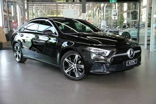 2019 Mercedes-Benz A-Class V177 800MY A200 DCT Black 7 Speed Sports Automatic Dual Clutch Sedan.