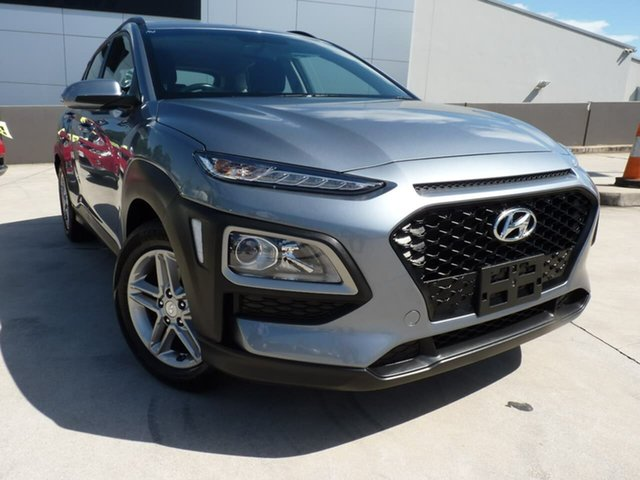 Pre-Owned Hyundai Kona OS.2 MY19 Active 2WD Blacktown, 2019 Hyundai Kona OS.2 MY19 Active 2WD Lake Silver 6 Speed Sports Automatic Wagon