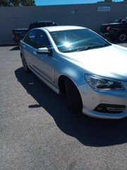 2014 Holden Commodore VF MY14 SV6 Storm Silver 6 Speed Sports Automatic Sedan.