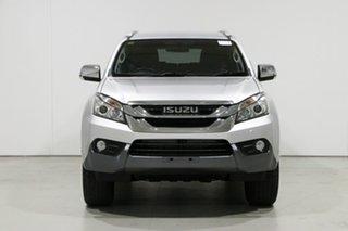 2016 Isuzu MU-X UC MY15.5 LS-T (4x2) Silver 5 Speed Automatic Wagon.