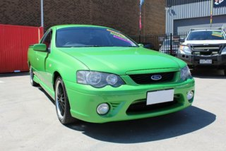 2008 Ford Falcon BF MkII XR6 Green 4 Speed Auto Seq Sportshift Utility