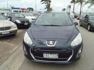 2013 Peugeot 308 T7 MY13 Sportium Touring Grey 6 Speed Sports Automatic Wagon.