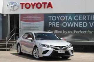 2019 Toyota Camry AXVH71R Hybrid Silver 6 Speed Constant Variable Sedan.