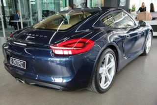 2015 Porsche Cayman 981 MY15 PDK Blue 7 Speed Sports Automatic Dual Clutch Coupe